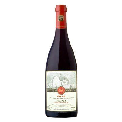 2013 pinot noir organic bio wine
