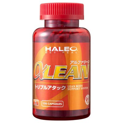 HALEO alpha Lean shipped from Japan