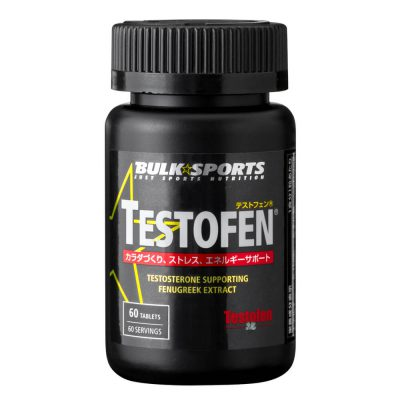 Testofen 60 tablets testosterone booster shipped from Japan