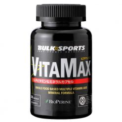 VitaMax 240 capsules multivitamin and mineral formula shipped from Japan