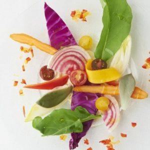 Macrobiotic Cooking School G-Veggie in Ginza food art