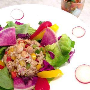 Macrobiotic Cooking School G-Veggie in Ginza dish