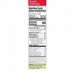 Froozer-orchard-cherry-berry-nutrition-facts