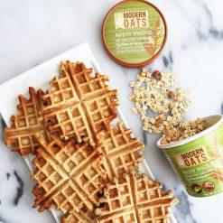 apple walnuts and waffles modern oats