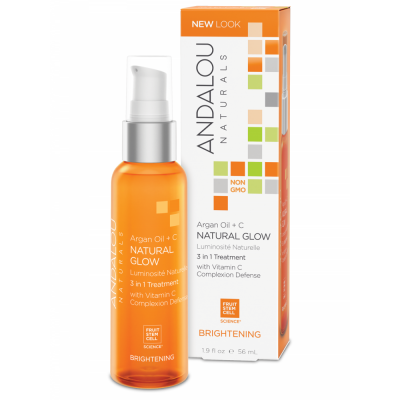 Argan Oil + C Natural Glow 3 in 1 Treatment by Andalou