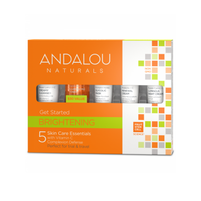 Get Started Brightening Kit by Andalou