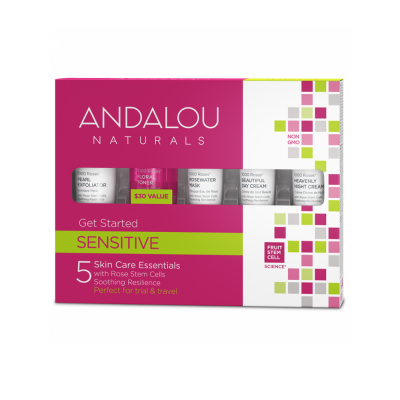 Get Started Sensitive Kit by Andalou