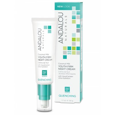 Coconut Milk Youth Firm Night Cream by Andalou