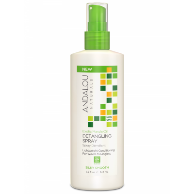 Exotic Marula Oil Silky Smooth Detangling Spray by Andalou