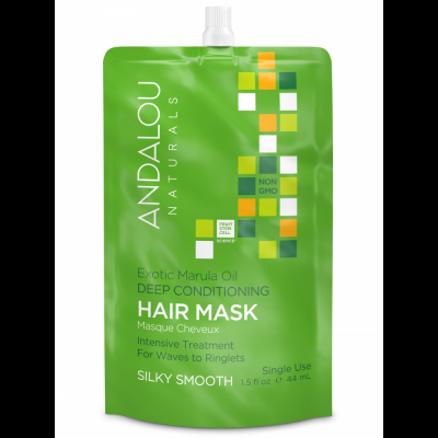 Exotic Marula Oil Silky Smooth Deep Conditioning Hair Mask by Andalou