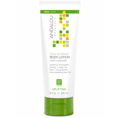 Citrus Sunflower Uplifting Body Lotion by Andalou
