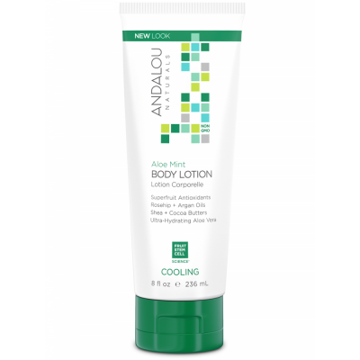 Aloe Mint Cooling Body Lotion by Andalou