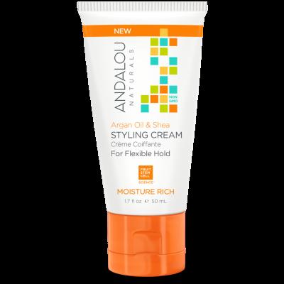 Argan Oil & Shea Moisture Rich Styling Cream by Andalou