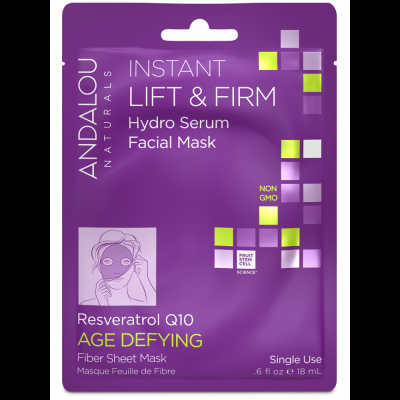 Instant Lift & Firm Facial Sheet Mask by Andalou