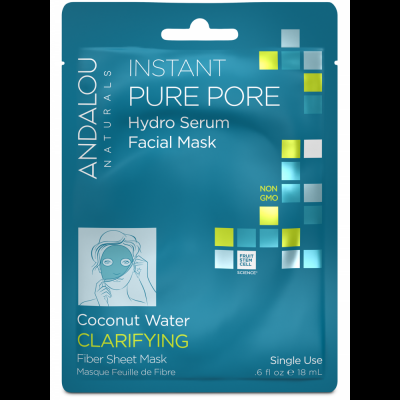 Instant Pure Pore Facial Sheet Mask by Andalou