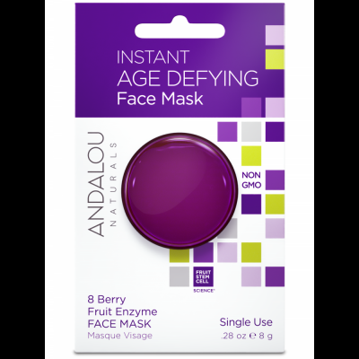 Instant Age Defying Face Mask Pod - 8 Berry Fruit Enzyme Mask by Andalou
