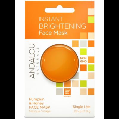 Instant Brightening Face Mask Pod - Pumpkin & Honey Face Mask by Andalou