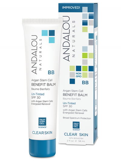 Argan Stem Cell Benefit Balm Un-Tinted SPF 30 Andalou