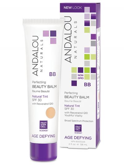 Andalou Perfecting Beauty Balm Natural Tint SPF 30