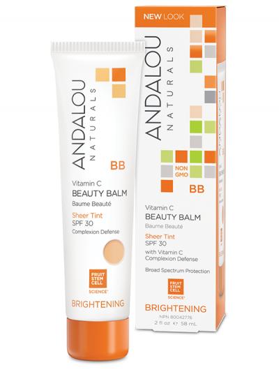 Andalou Vitamin C Beauty Balm Sheer Tint SPF 30