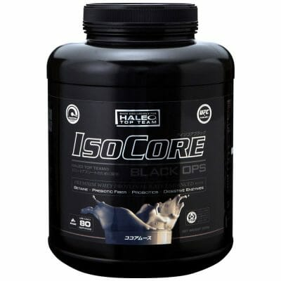 Isocore chocolate mousse protein powde
