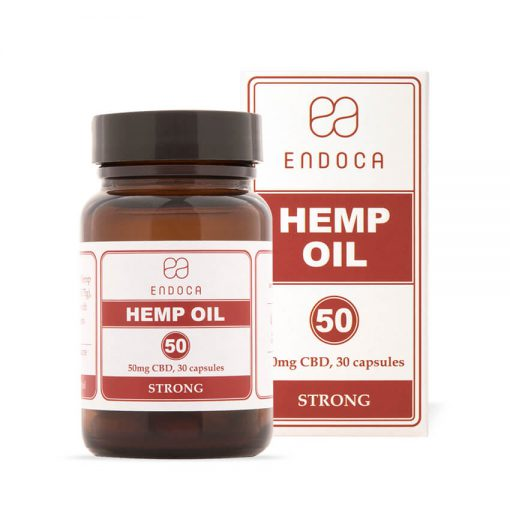 CBD capsules by Endoca on HealthyTOKYO high concentration