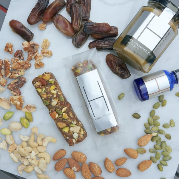 healthytokyo pistachio CBD energy bar