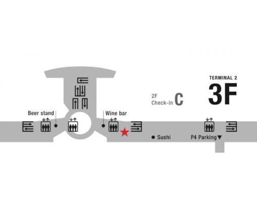 haneda map square