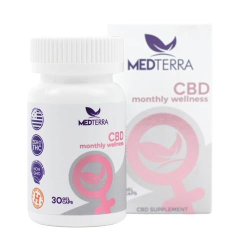 CBD capsules medterra good morning