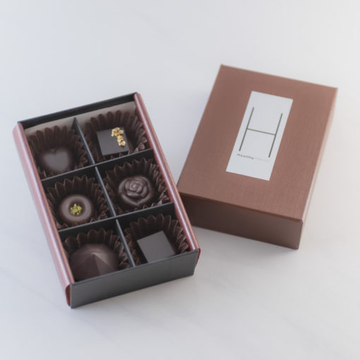 CBD Chocolate Vegan Box of 6