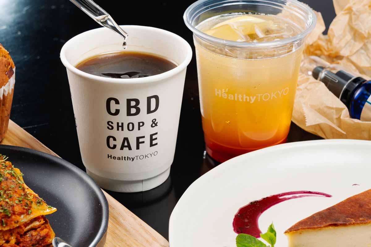 CBD drinks vegan organic tokyo