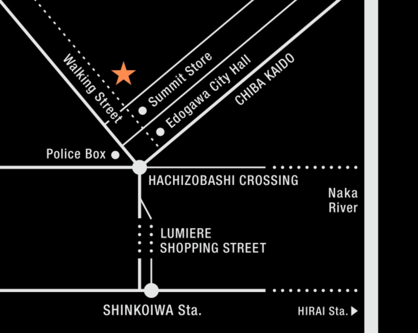 HealthyTOKYO CBD Factory and Cafe Edogawa access 20210629