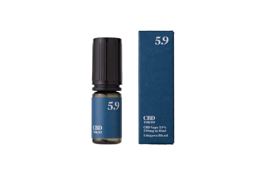 CBDTokyo edogawa blend CBD vape oil